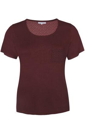ZHENZI - Aini Pyjamas T-shirt - Bordeaux