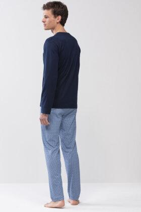 MEY : MÆND - San Pedro - Herre Pyjamas - Mørkeblå
