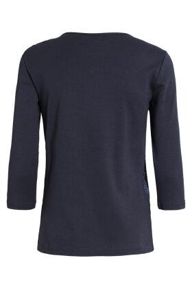 SIGNATURE - 3/4 Ærmet T-shirt - Marine