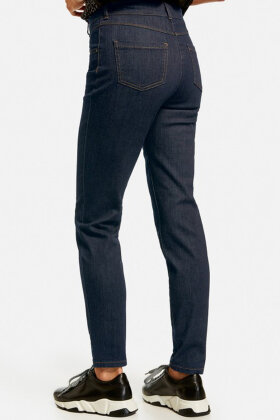GERRY WEBER - Sporty Elastiske Denim Jeans - Fade Out - Mørk