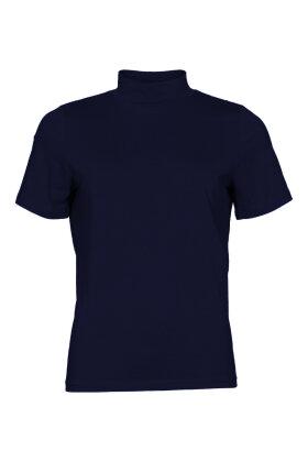 MICHA - Basis T-shirt - Turtleneck - Mørkeblå
