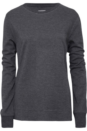 JBS of Denmark - Bamboo Blend Sweat Shirts - Yoga Bluse - Mørkegrå