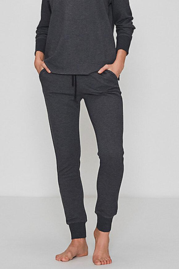 JBS of Denmark - Bamboo Blend Sweat Pants - Yoga Bukser - Mørkegrå