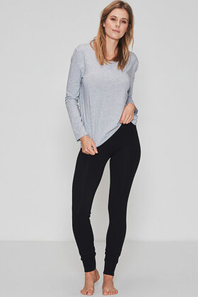 JBS of Denmark - Bamboo Blend Pants - Yoga Bukser - Sort