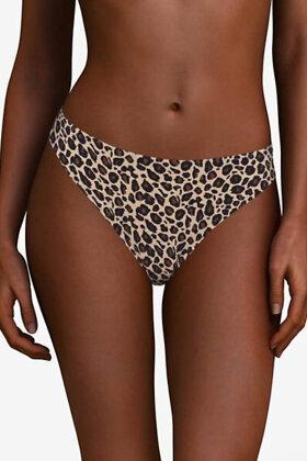CHANTELLE - Soft Stretch String - Onesize - Leopard Print