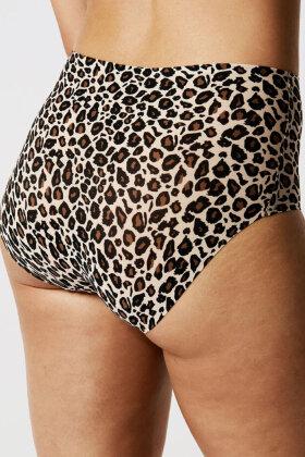 CHANTELLE - Soft Stretch Maxi - Onesize - Leopard Print