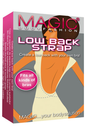 MAGIC BODYFASHION - Low Backstrap - Fri Ryg Med Bh