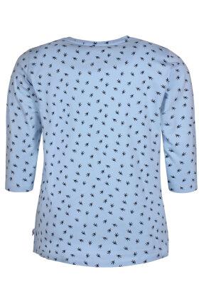 ZHENZI - Alberta - T-shirt - Lyseblå