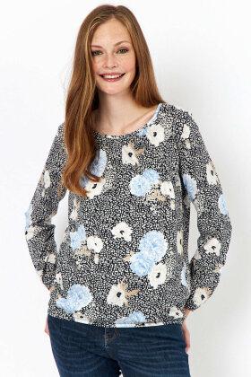 SOYACONCEPT - Felicity - Let Løs - Floralt Print - Blå