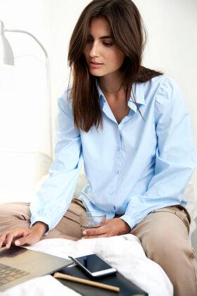 SOYACONCEPT - Netti - Miljørigtig Skjorte - Lyseblå
