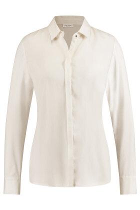 GERRY WEBER - Cupro Skjorte - Off White