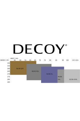 DECOY - Tights Herringbone - 70 Denier - Sildeben - Sort
