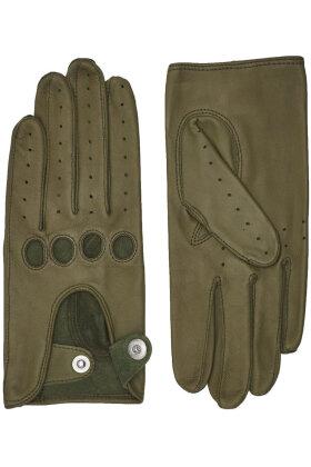RANDERS HANDSKER - Driving Glove - Køre Handske - Lammeskind - Army