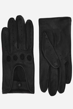 RANDERS HANDSKER - Driving Glove - Køre Handske - Lammeskind - Sort
