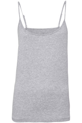 JBS of Denmark - Bamboo Blend Strap Singlet - Top - Smalle Stropper - Grå Melange