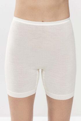 MEY - Exquisite Long Pants - Trusser - Silke & Merino - Off White
