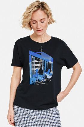 GERRY WEBER - Parisienne - T-shirt - Mørkeblå