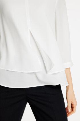 GERRY WEBER - Flerlags Bluse - Off White