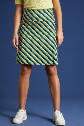 KING LOUIE - Border Skirt Daze - Full Print Nederdel - Grøn