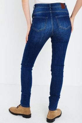 PULZ - Liva Jeans - Skinny Leg - Ultra Highwaist - Denim