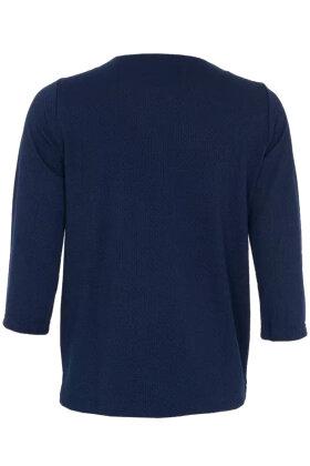 BRANDTEX - Elegant Bluse - Mørkeblå