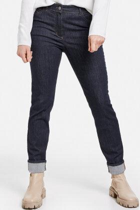 GERRY WEBER - Raw Jeans - Skinny Fit - Mørk Denim