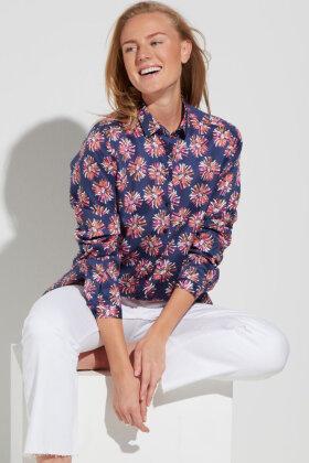 ETERNA - Floral Skjorte - Multifarvet