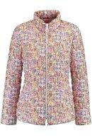 GERRY WEBER - Quiltet Kort Sporty Jakke - Multifarvet Pink