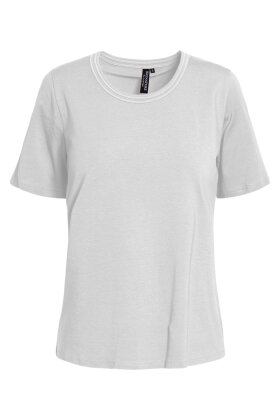 SIGNATURE - Finere Basis T-shirt - Hvid