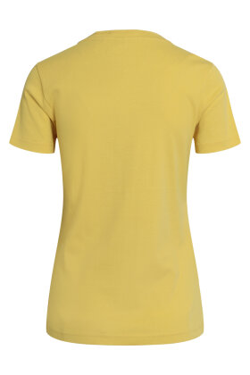 BRANDTEX - Coastline T-shirt - Øko Bomuld - Gul