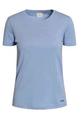 BRANDTEX - Coastline T-shirt - Øko Bomuld - Lyseblå