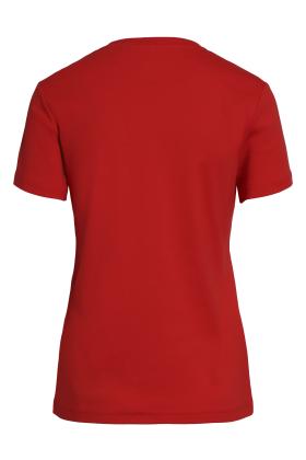 BRANDTEX - Coastline T-shirt - Øko Bomuld - Rød