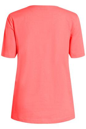 BRANDTEX - Øko T-shirt - Print - Rød