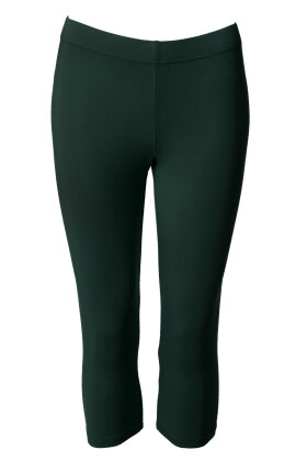 DU MILDE - Leggings Short - Flaskegrønne