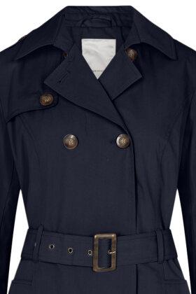 SOYACONCEPT - Lora 5 - Cottoncoat - Trenchcoat - Mørkeblå