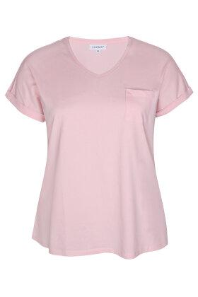 ZHENZI - Alberta 813 - Basis T-shirt - Rosa