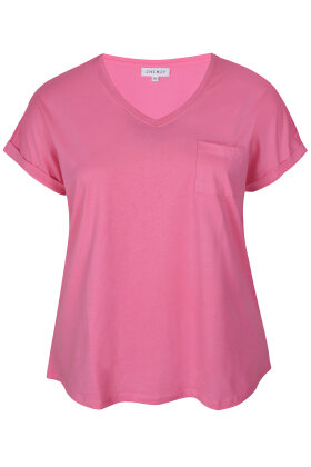 ZHENZI - Alberta 813 - Basis T-shirt - Pink