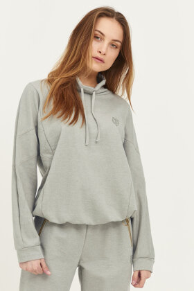 PULZ - Pz Isabell Sweatshirt - Casual Loose Fit - Army Grøn