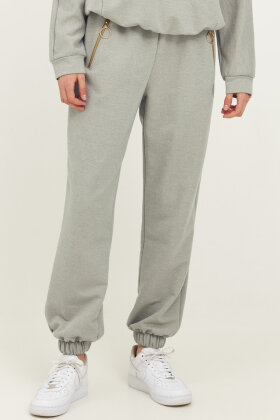 PULZ - Pz Isabell Sweatpants - Casual Loose Fit - Army Grøn