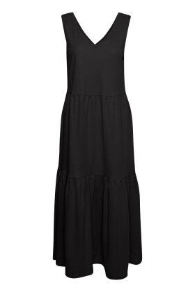 PULZ - Pz Amelia Dress Long - Casual Kjole - Sort
