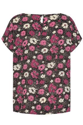 SOYACONCEPT - sc Solea 26 - Crepe T-shirt - Pink