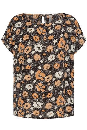 SOYACONCEPT - sc Solea 26 - Crepe T-shirt - Gul