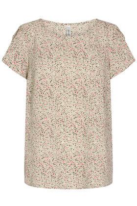 SOYACONCEPT - sc Solea 27 - Crepe T-shirt - Army Grøn