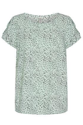 SOYACONCEPT - sc Solea 27 - Crepe T-shirt - Mint