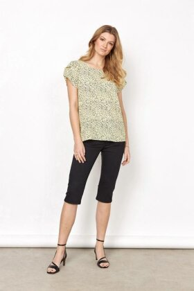 SOYACONCEPT - sc Solea 27 - Crepe T-shirt - Gul