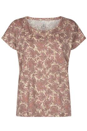 SOYACONCEPT - sc-Felicity AOP 312 - T-shirt - Pink
