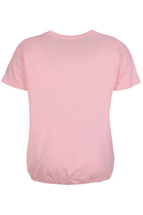ZHENZI - Baci 212 - Basis T-shirt - Rosa