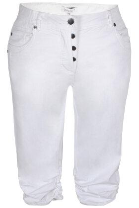 ZHENZI - Stomp 76 - Lette Stumpebukser - Capri - Legging Fit - Hvid