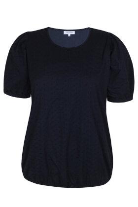 ZHENZI - Bale 214 - Løs T-shirt - Mørkeblå