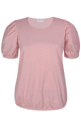ZHENZI - Bale 214 - Løs T-shirt - Rosa